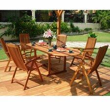 Vista 7 Piece Dining Set