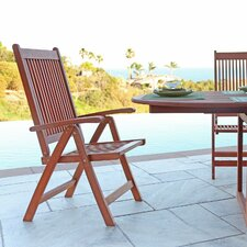 Vista Reclining Dining Arm Chair