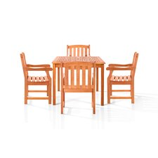 Downton 5 Piece Dining Set