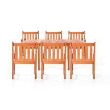 Villa 7 Piece Dining Set