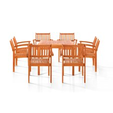 Pasadena 9 Piece Dining Set
