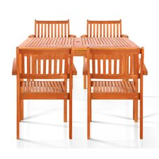 Brainerd 5 Piece Dining Set