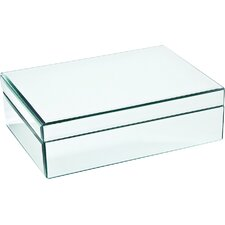 Medium Glass Jewelry Box