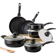 Wayfair Basics 10 Piece Non-Stick Aluminum Cookware Set