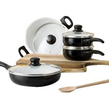 Wayfair Basics 8 Piece Non-Stick Ceramic Cookware Set