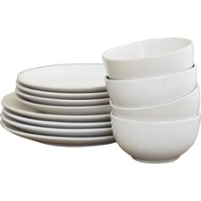 Wayfair Basics 12 Piece Dinnerware Set