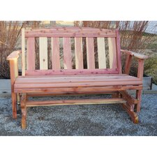 Reviews Amish Glider Bench
