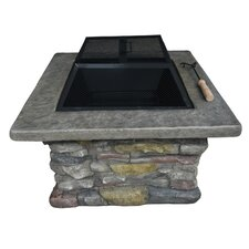 Caldera Magnesium Oxide Wood Fire Pit Table