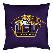 NCAA LSU Throw Pillow