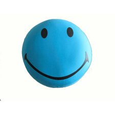 I'm So Happy Expressive Face Indoor/Outdoor Throw Pillow