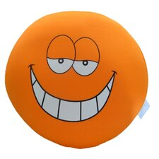 Cool as a Expressive Face Indoor/Outdoor Throw Pillow