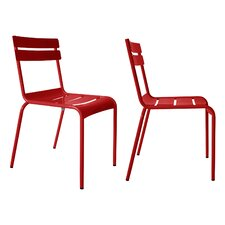Today Sale Only Luxembourg Stacking Side Chair (Set of 2)