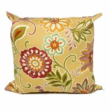 Good stores for Golden Floral Outdoor Throw Pillows Square 18x18 (Set of 2) (Set of 2)
