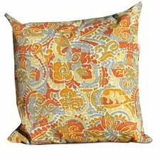 Marigold Outdoor Throw Pillows Square 18x18 (Set of 2) (Set of 2)