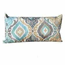 Best  Persian Mist Outdoor Lumbar Pillows Rectangle 11x22 (Set of 2) (Set of 2)