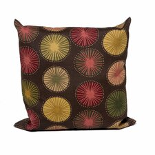 Sunburst Outdoor Throw Pillows Square 18x18 (Set of 2) (Set of 2)