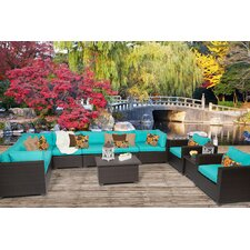 Belle 11 Piece Seating Group with Cushion