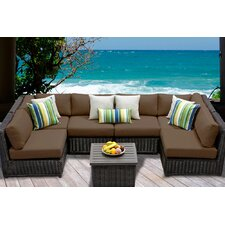 Venice 7 Piece Seating Group with Cushion