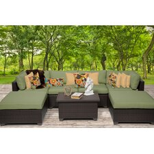 Belle 7 Piece Seating Group with Cushion