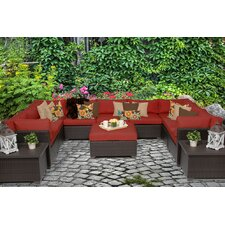 Wonderful Belle 12 Piece Seating Group with Cushion