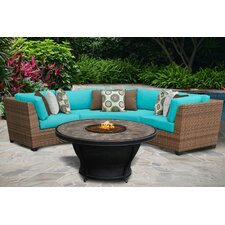 Laguna 4 Piece Seating Group with Cushion