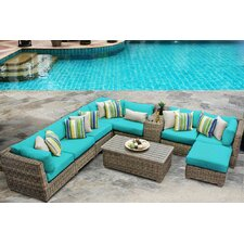 Best Choices Cape Cod 10 Piece Deep Seating Group with Cushion