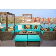Today Only Sale Cape Cod 8 Piece Deep Seating Group with Cushion