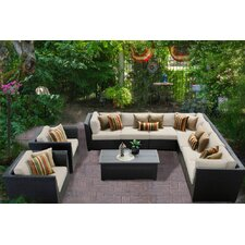 Barbados 10 Piece Seating Group with Cushion