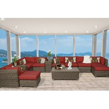Cape Cod 13 Piece Deep Seating Group with Cushion