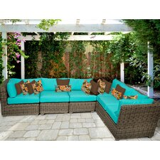 Coupon Cape Cod 6 Piece Deep Seating Group with Cushion