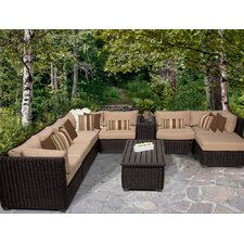Venice 10 Piece Seating Group with Cushion