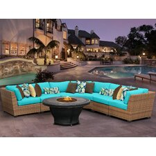 Laguna 5 Piece Seating Group with Cushion