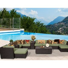 Venice 13 Piece Deep Seating Group with Cushion