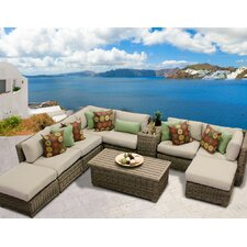Cape Cod 10 Piece Seating Group with Cushion
