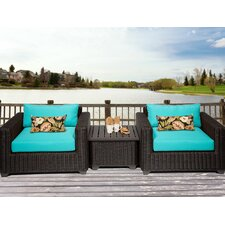 Venice 3 Piece Seating Group with Cushion