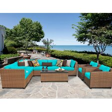 Find Laguna 10 Piece Seating Group with Cushion