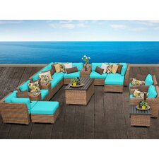 Laguna 17 Piece Deep Seating Group with Cushion