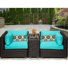2017 Sale Venice 3 Piece Seating Group with Cushion