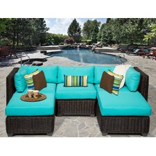 Venice 5 Piece Seating Group with Cushion
