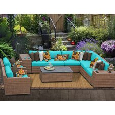 Laguna 11 Piece Deep Seating Group with Cushion