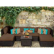 Venice 7 Piece Deep Seating Group with Cushion