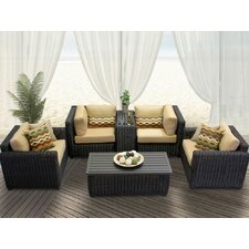 Venice 6 Piece Deep Seating Group with Cushion