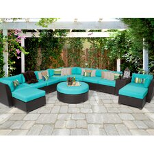 Barbados 11 Piece Deep Seating Group with Cushion