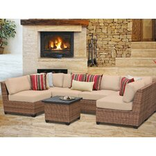 Laguna 7 Piece Deep Seating Group with Cushion