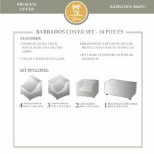 Barbados 10 Piece Winter Cover Set
