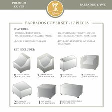Barbados 17 Piece Winter Cover Set