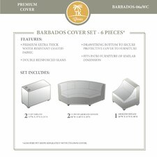 Barbados 5 Piece Winter Cover Set