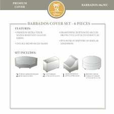 Barbados 6 Piece Winter Cover Set