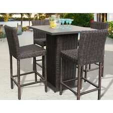 Venice 5 Piece Bar Set