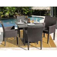 Napa 5 Piece Dining Set with Cushions